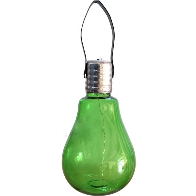 Green LED Lightbulb Lantern