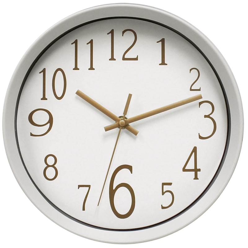 10IN ACCENT WALL CLOCK