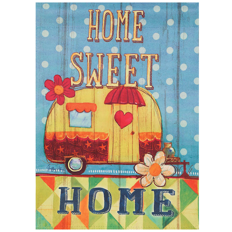 Home Sweet Home Suede Flag