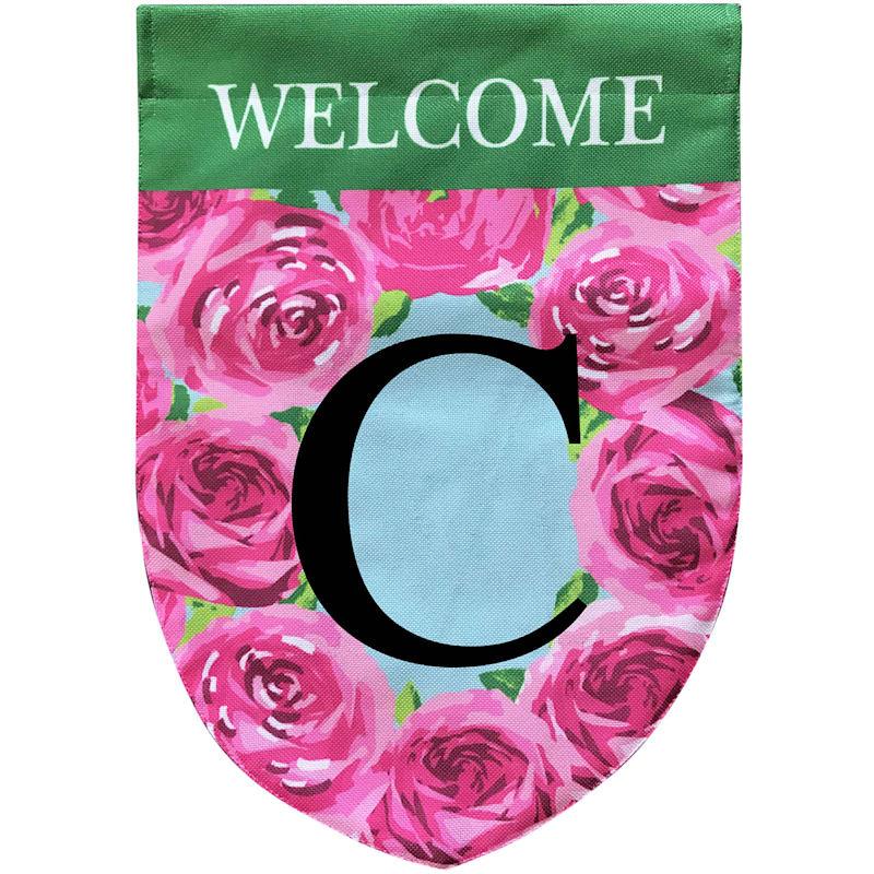 WELCOME FLOWER MONOGRAM C