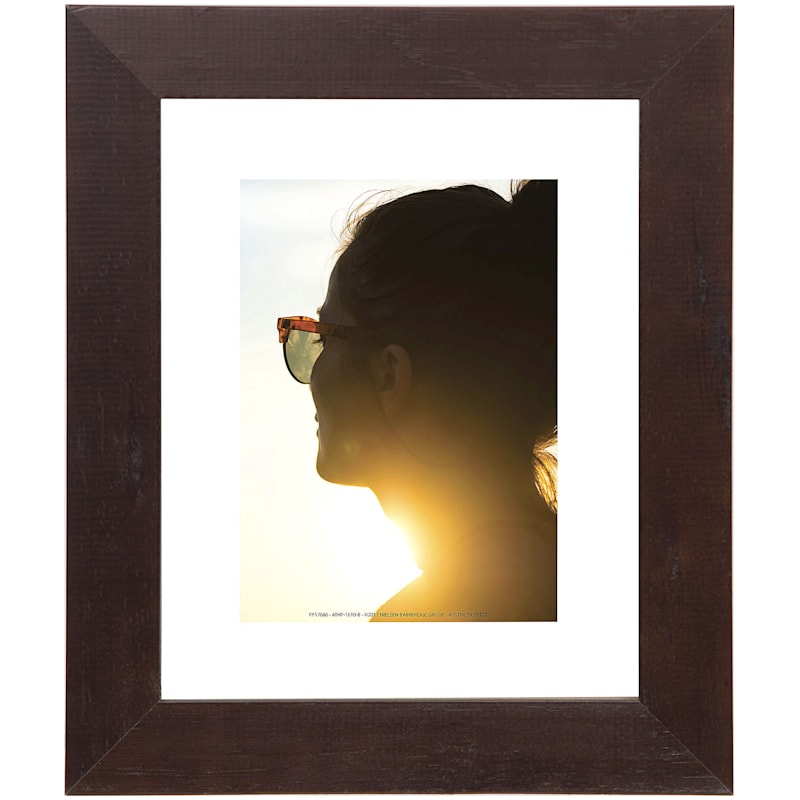 Pick And Mix 8X10 Espresso Float Wall Frame
