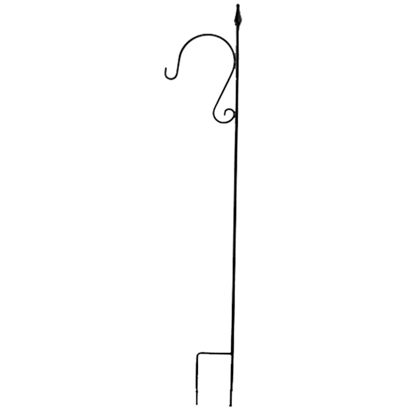 """Met Curve Hook Stake Black, 60"""""""