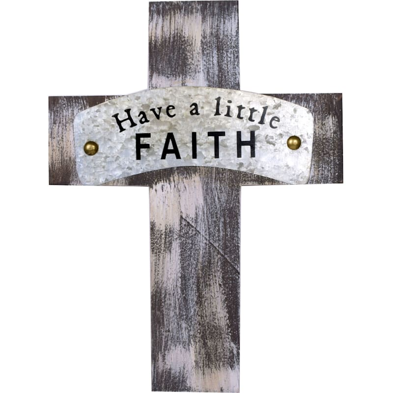 7X10 Faith Wood Cross