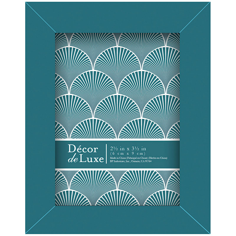2.5In.X3.5In. Dark Teal Tabletop Frame