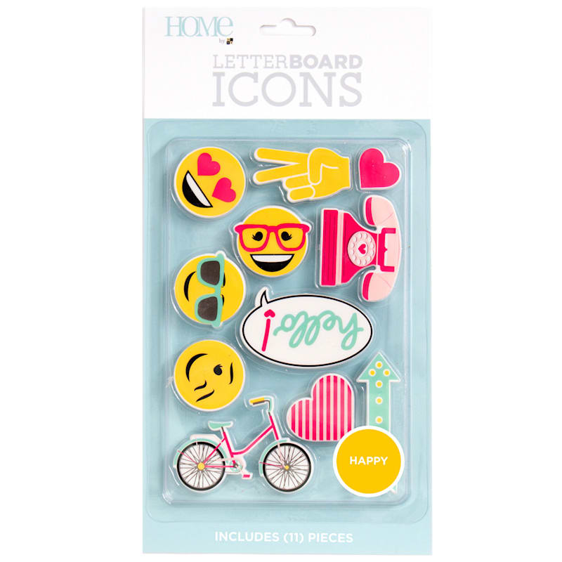 HAPPY ICON LETTERBOARD PACK
