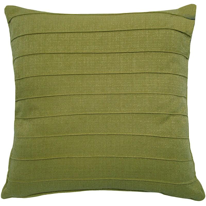 Dynasty Mustard Pintuck Pillow 20X20