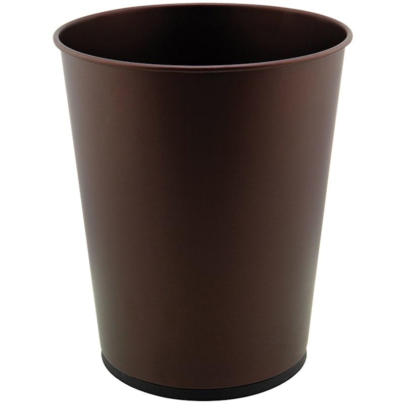 5L Waste Bin Open Top Rust