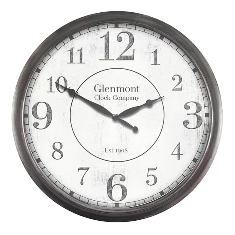 "Round Wall Clock, 30"""