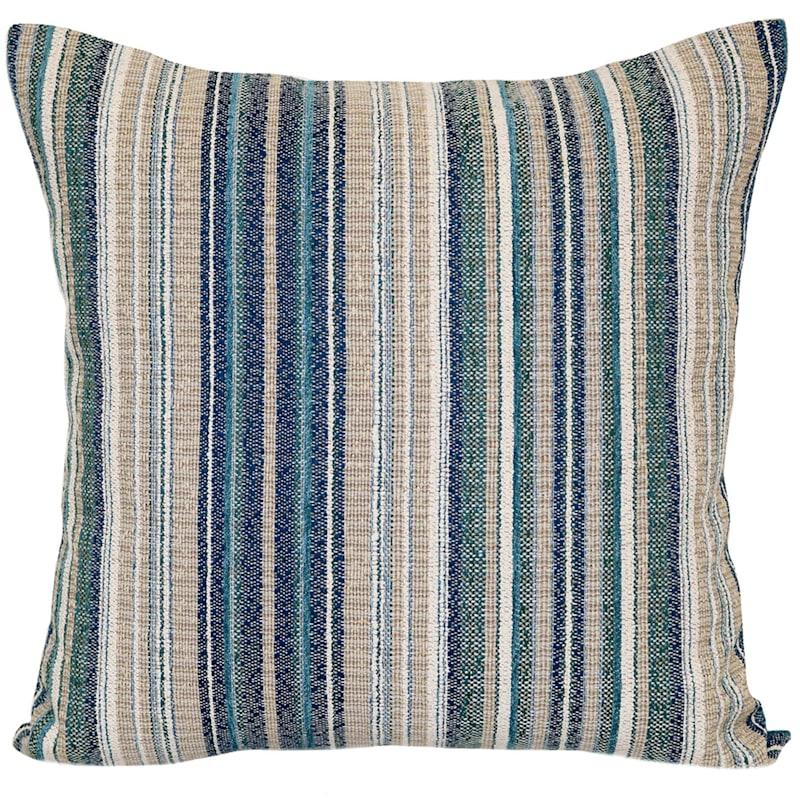 Rego Textured Stripe Jacquard Pillow 18X18
