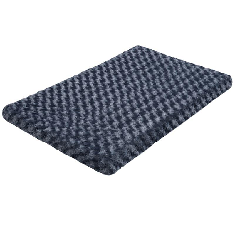 Orthopedic Crate Pad 30X19 Steel Blue