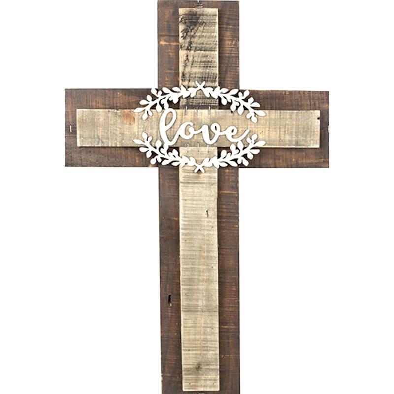 14X20 Love Wood Cross