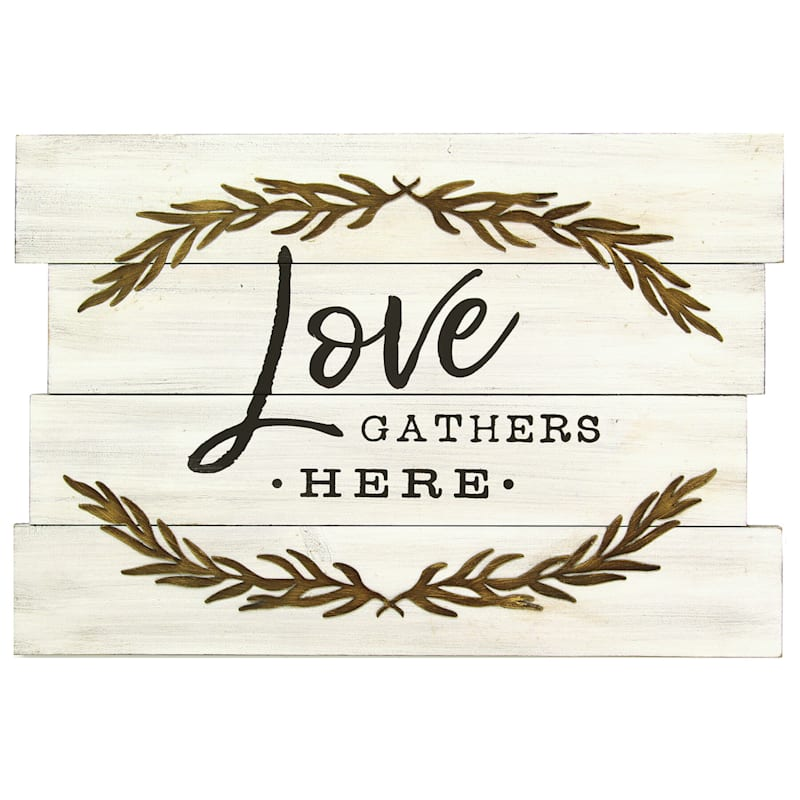 'Love Gather Here' Wall Art 17 x 12-in