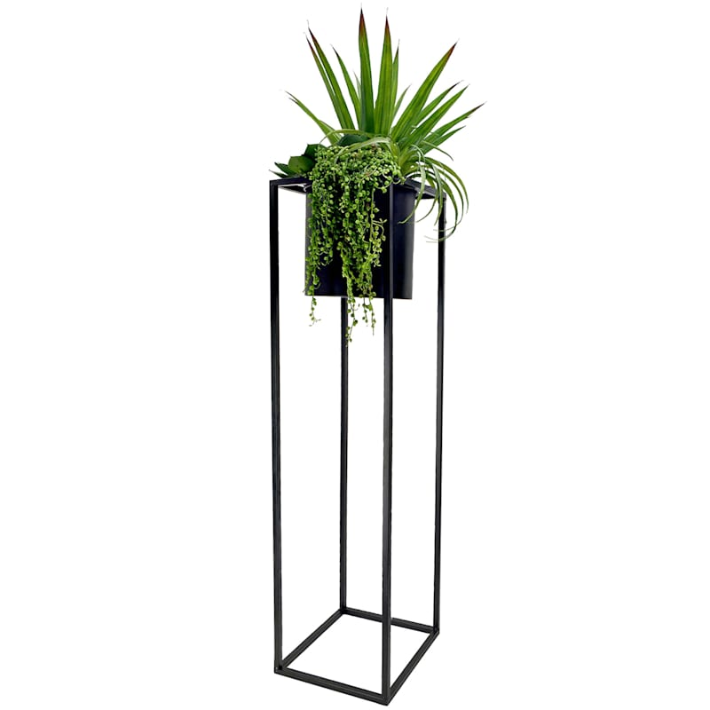 51in. Succulent Black Stand