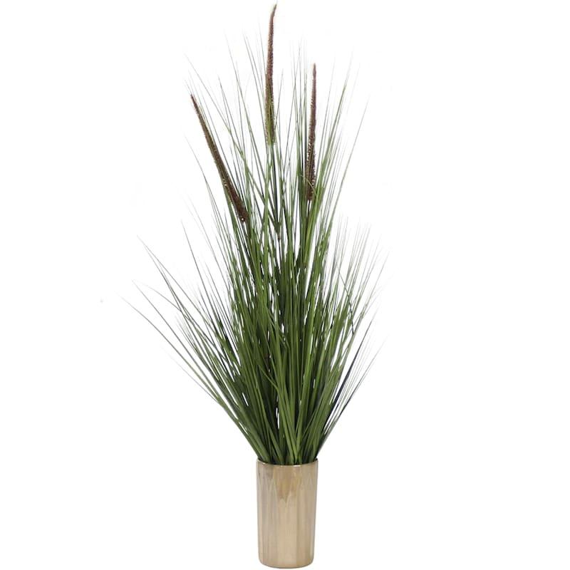 53.5in. Grass In Ceramic