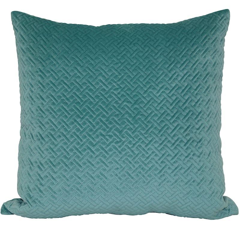 Wicker Park Ocean Pinsonic Plush Pillow 18X18