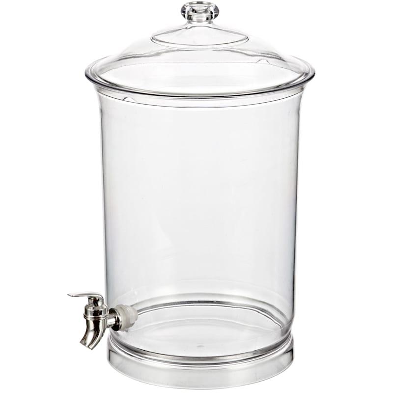 Large Bpa Free Acrylic Beverage Dispenser/Removable Spigot