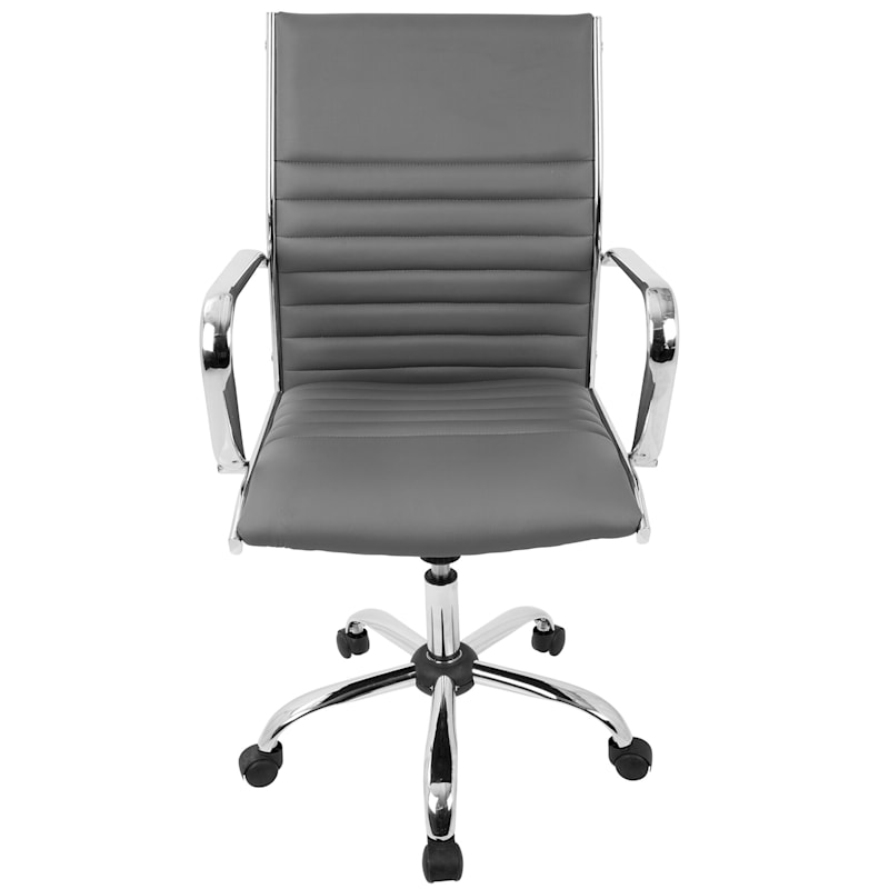 Master Grey Contemporary Adjustable Office Chair