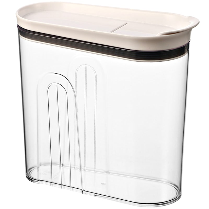 Clear Bpa Free Acrylic Dry Food Storage Dispenser Extra Large