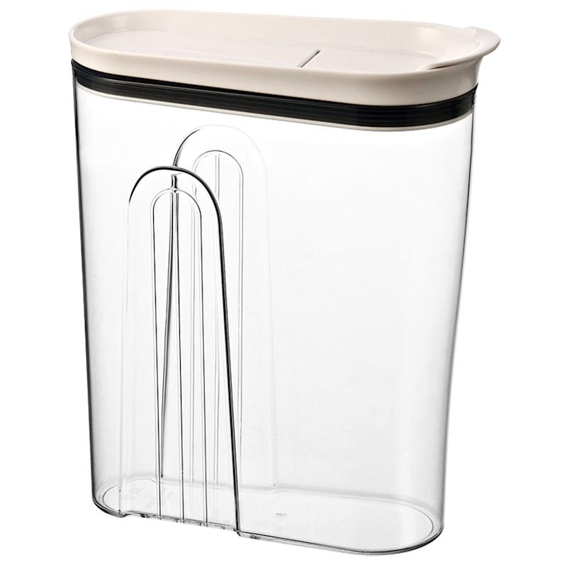Clear Bpa Free Acrylic Dry Food Storage Dispenser Jumbo