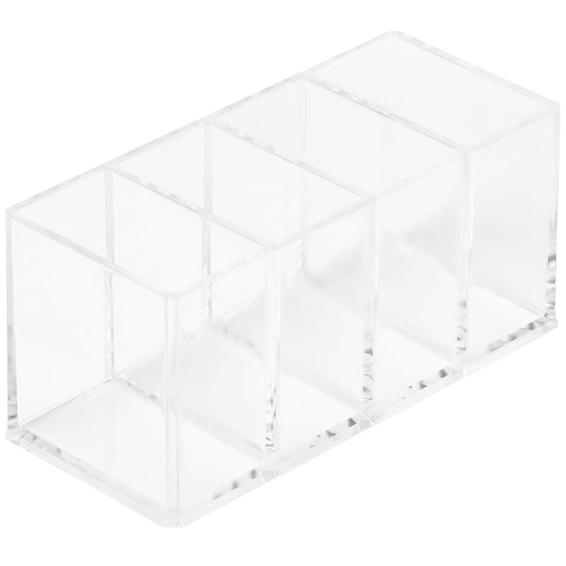 4 Compartment Cosmetic Tray
