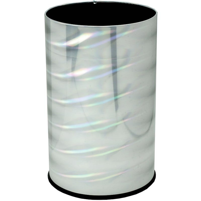 Holographic Trash Bin 12 In