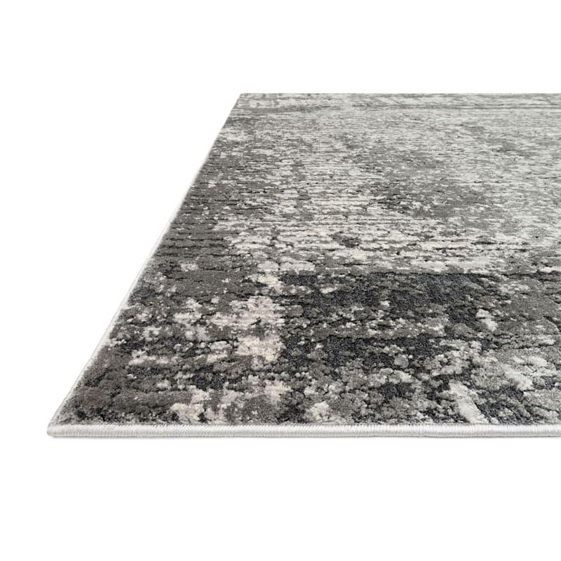(B528) Holden Abstract Gray Runner, 2x7