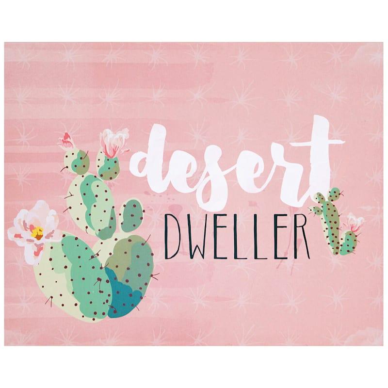 Desert Dweller Wall Art 16 x 20-in.