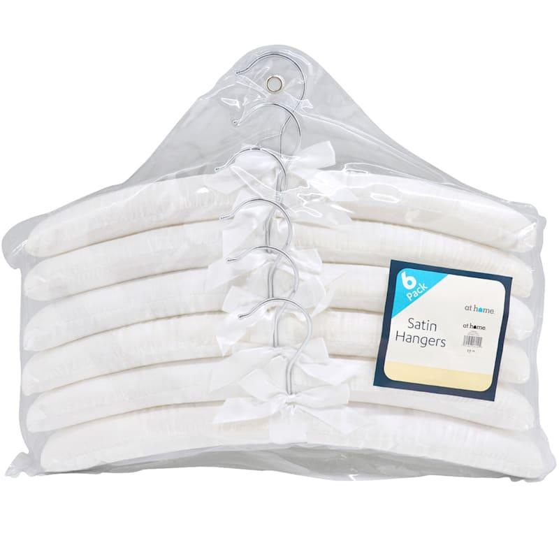 Satin White 6 Piece Hanger