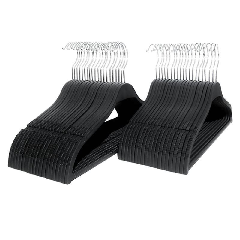 Tapered Suit Hangers 40 Pack - Gray