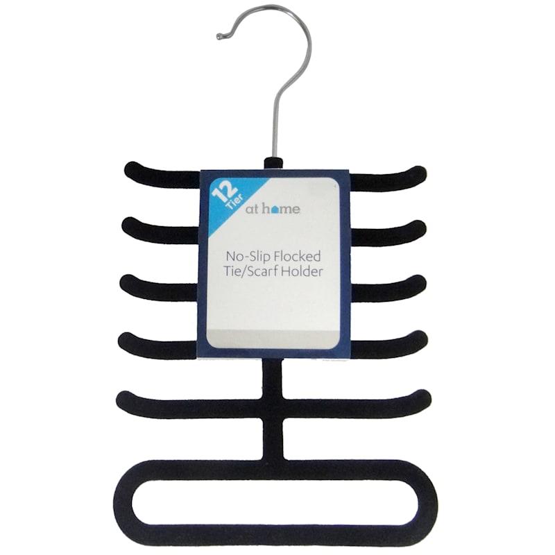 Velvet Black Tie Hanger