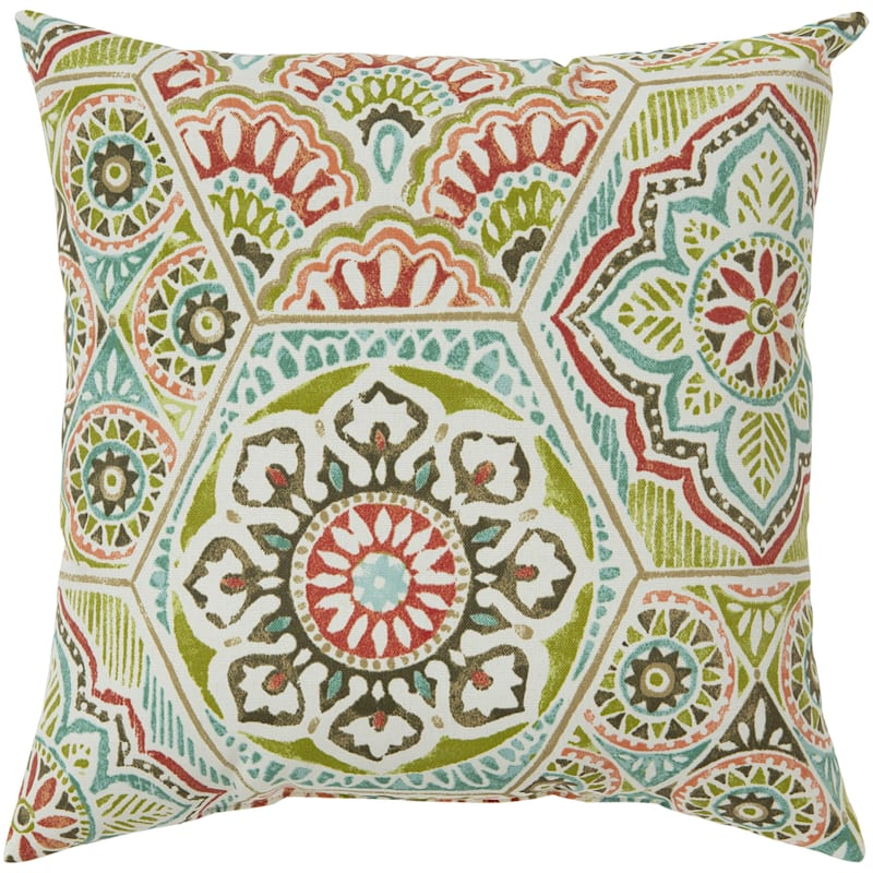 """Calista Opal Outdoor  Square Pillow, 16"""""""