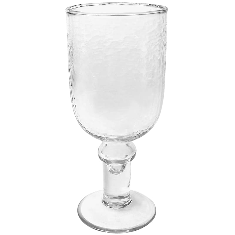 Recycled Glass Water Goblet, 13.5 oz.