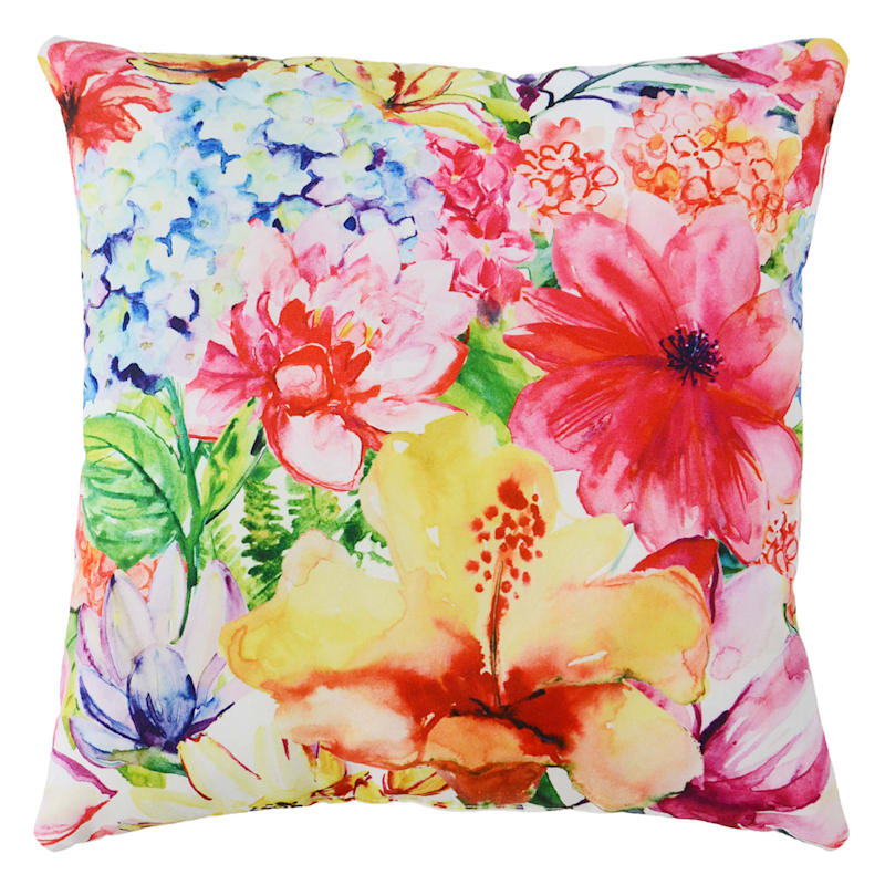 Outdoor Pillow- Floral Garden