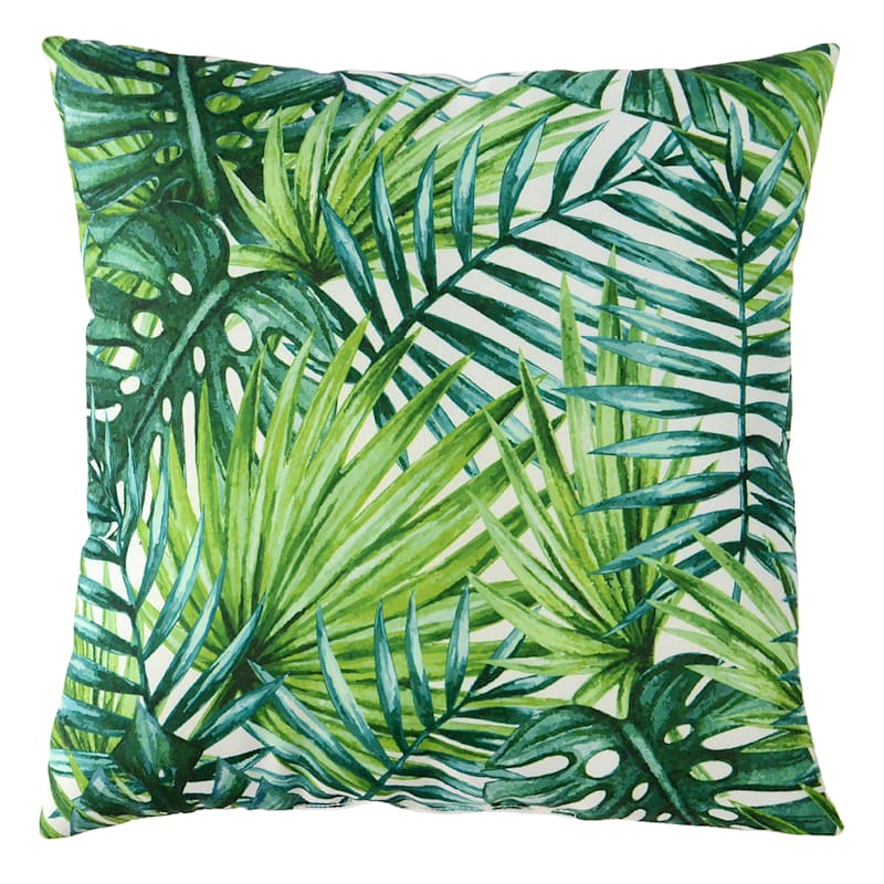 Outdoor Pillow- Palm Frond