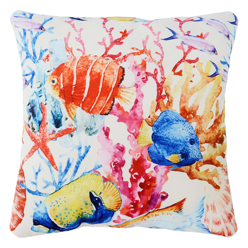 Outdoor Pillow- Under The Sea