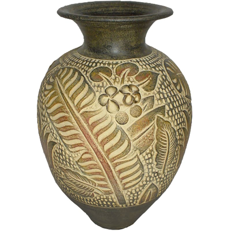 """Jungle Décor Vase, 25"""""""