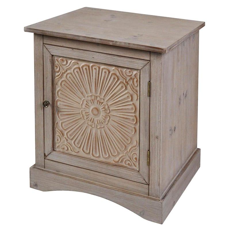 Shana 1 Door Wood Accent Cabinet