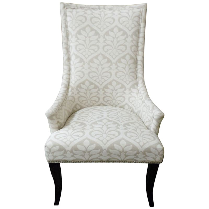 Chatham Fiona White Accent Chair