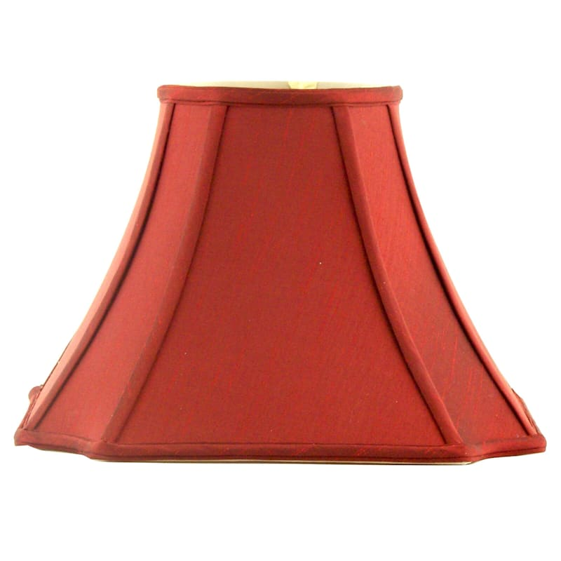 7X15X11 Red Bell Table Lamp Shade