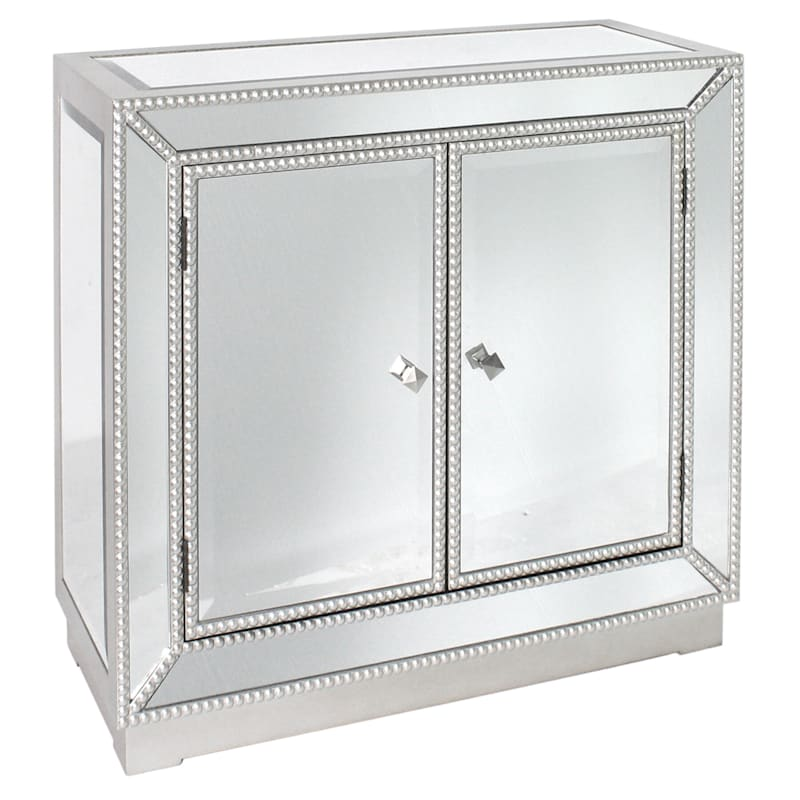 Pearl Mirror 2 Door Cabinet At Home