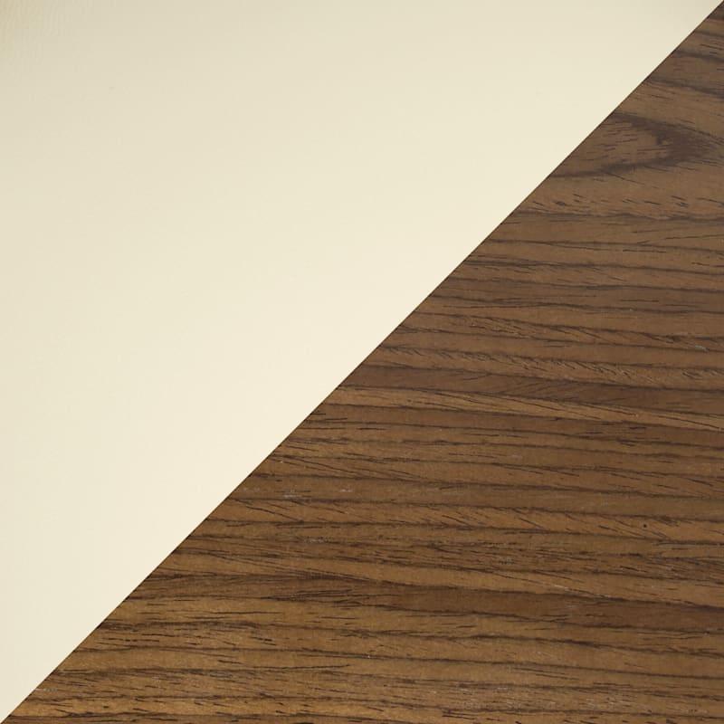 Valenica Walnut & Cream Adjustable Swivel Barstool