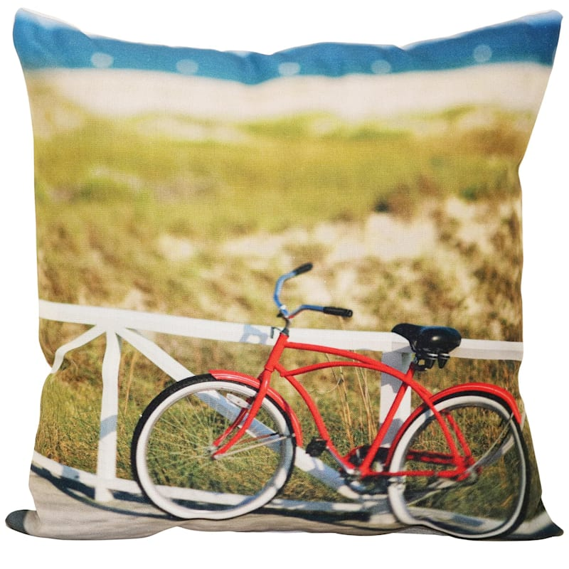 OL BIKE BY THESHORE PILLOW 17