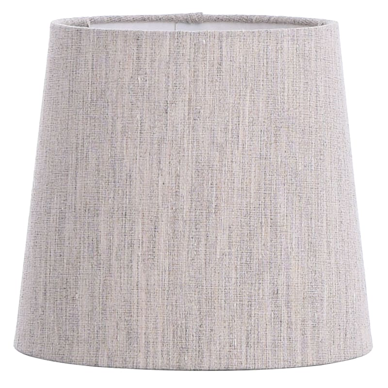 TAN WEAVE FABRIC ACCENT SHADE