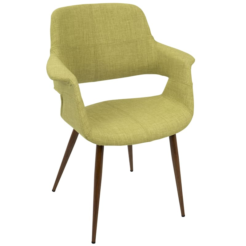 Vintage Flair Green Mid-Century Modern Chair