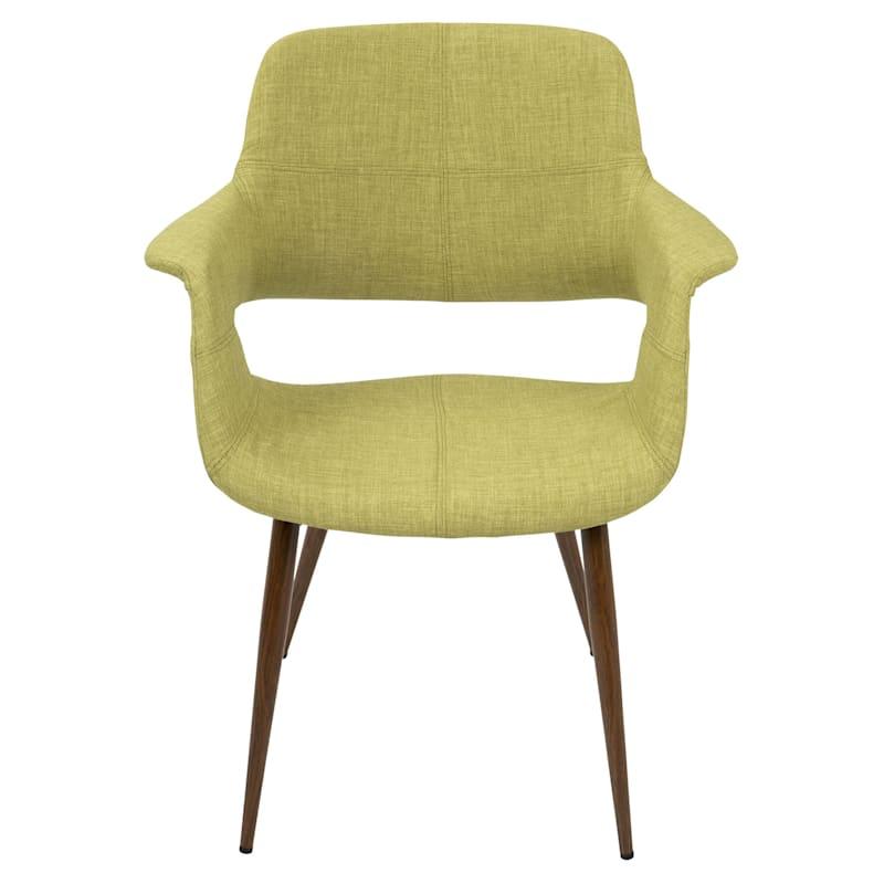 Vintage Flair Green Mid-Century Modern Chair