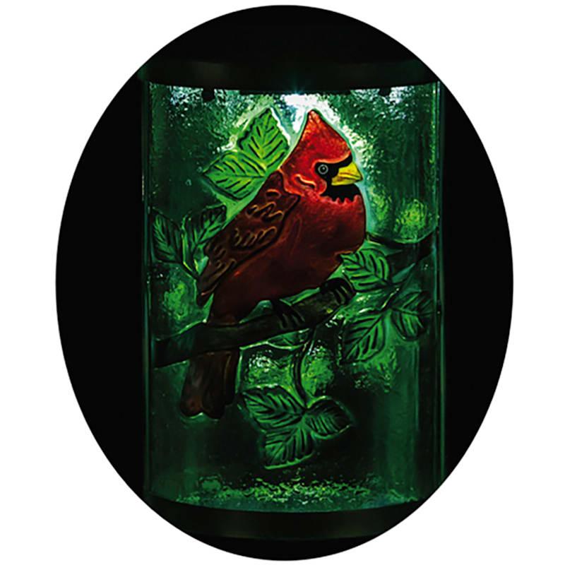 15in. Solar Cardinal Lantern