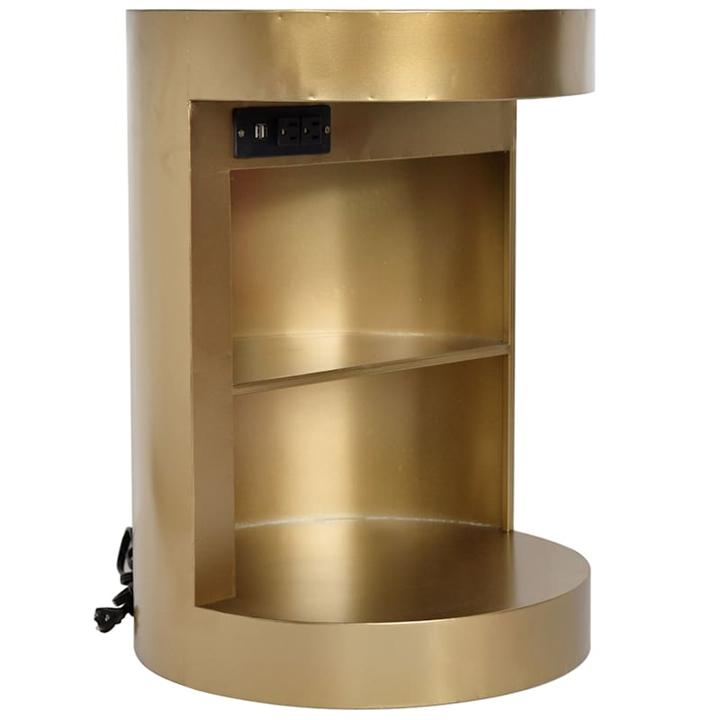 Studio Nova Gold USB Table