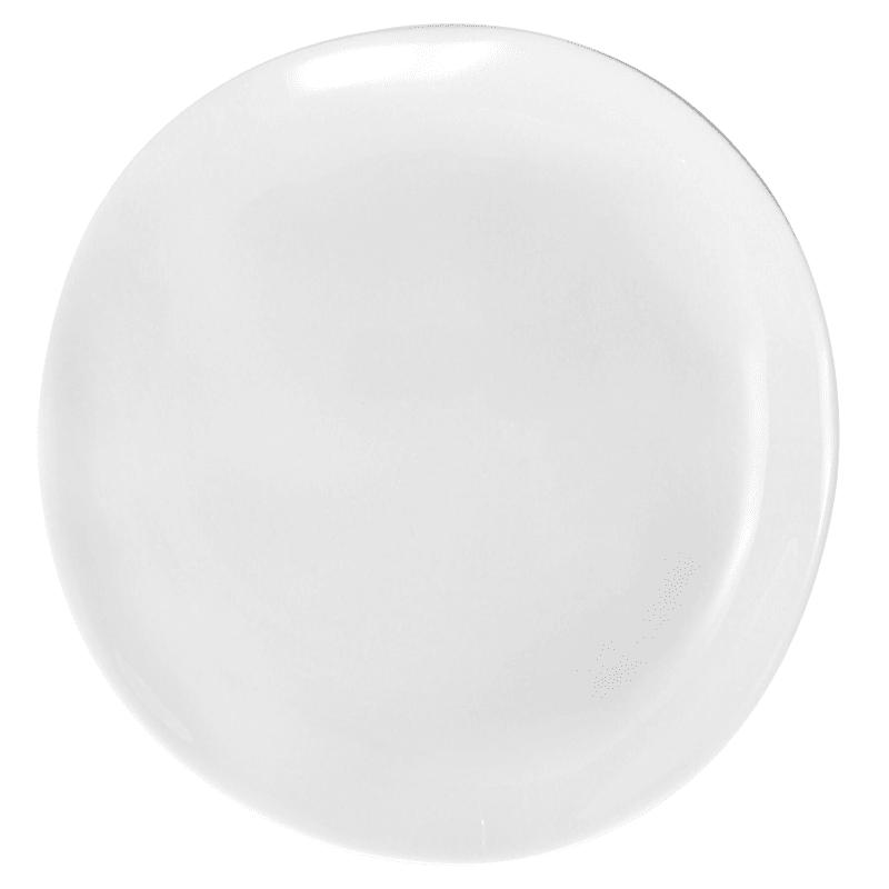 Melamine White Organic Shaped 8in. Salad Plate