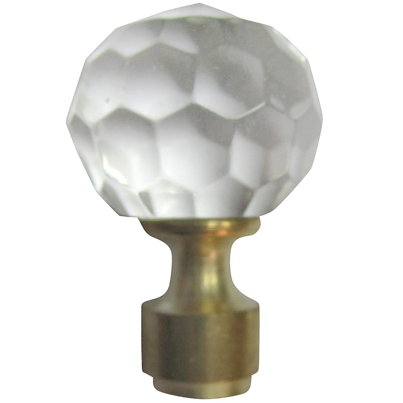 FINIAL ROUND PRISM GOLD
