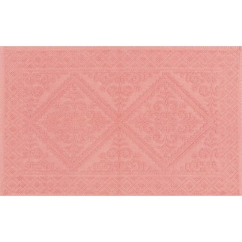 Belle Lantana 100% Cotton Bath Rug 21X34